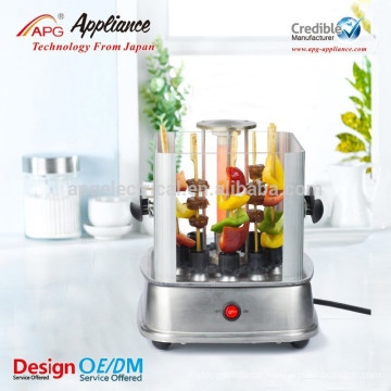 Automatic rotating electric barbecue grill machine