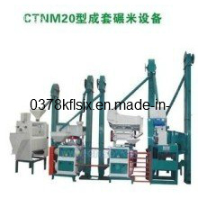 20 Tons Per Day Rice Milling Equipment (CTNM 20)