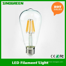 New 85-265V 6W LED Filament St64 LED