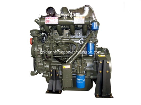 Loading Truck Diesel Engine