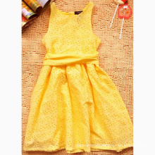 Girls New Yellow Summer Dress Fashionable Princess Dress