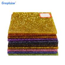 3mm Custom Fancy Color glitter acrylic sheet