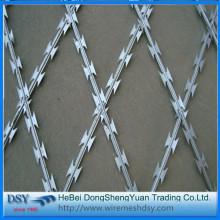 New Galvanized Razor Barbed Wire Razor