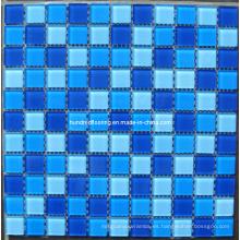 Mosaico de mosaico de vidrio de diseño de mosaico de la piscina (HSP312)