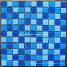 Mosaïque de verre Design de motif Mosaïque de piscine (HSP312)