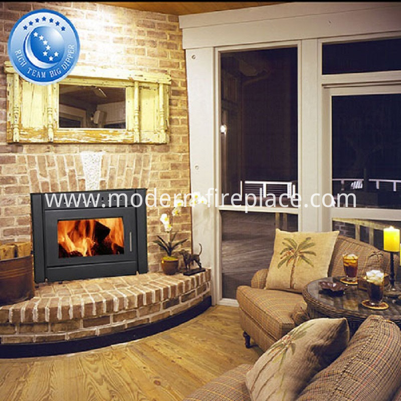 Wood Burning Fireplace Zero Clearance Ventless Heaters Insert