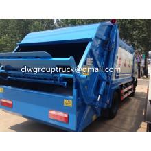 Dongfeng Duolika 5CBM compresser le camion de poubelle