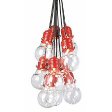 Modern Design Glass Pendant Lamp with 10 Holder (MD4119S-10R)