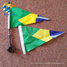 Großhandel benutzerdefinierte Dreieck Wimpel Flaggen Fahrrad Flaggen