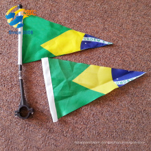 wholesale custom triangle pennant flags bike flags