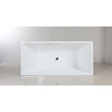 Thin Rim Acrylic Freestanding Bathtub