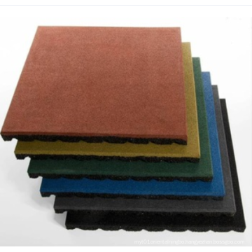 20mm 25mm Quality outdoor rubber tile/rubber flooring for playground