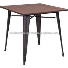 Industrial Metal Wood High Bar Tisch