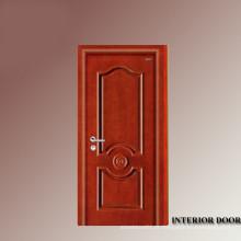 Cicuta de entrada de madeira sólida de villa de luxo dentro porta portas interiores