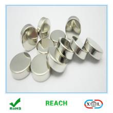 small size round nickle coating neodymium magnet
