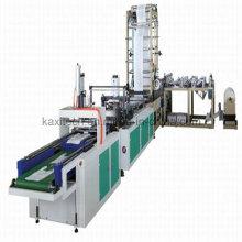 Máquina de fabricação automática de malas de mão não tecido