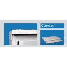 Canopy (cubierta) para el recinto de montaje en pared