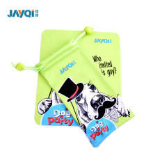 Screen Printing Microfibre Eyeglasses Pouch With Brand Logo