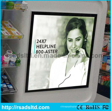 China Factory New Style Werbung LED magnetische Leuchtdisplay Kartonagen