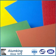 Murs de rideaux en aluminium 8011 revêtus de couleur différente