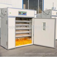 5000 Incubateur d'oeufs de poulet avec chauffage par incubateur