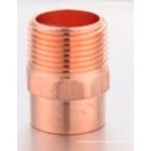 Adaptador de cobre cobre macho adaptador C * M