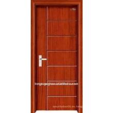 Puertas decorativas de madera a prueba de incendios
