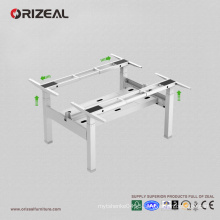 High quality sit to stand motorized desk, adjustable lift height workstation