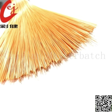 Orange Brush Masterbatch Granules