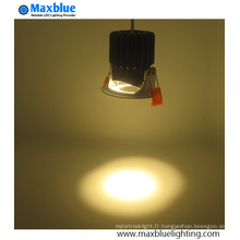 9W 12W CREE COB Oval Hole Dimmable LED Downlight