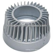 Pièces de moulage sous pression en aluminium LED dissipateur thermique
