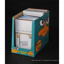 Boîte d'emballage de café de papier d'affichage avec le prix concurrentiel