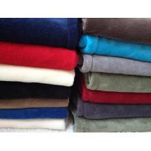 Gute Qualität Solid Coral Fleece Decke