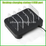Tablet/mobilephone charging station 4 USB charging port