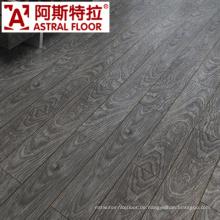 12mm CER, ISO-anerkannter umweltfreundlicher Handscraped lamellenförmig angeordneter Bodenbelag