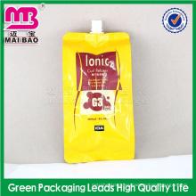 Bolsita material reciclable del jugo de la espiga 100%