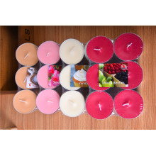 Vela perfumada colorida Tealight