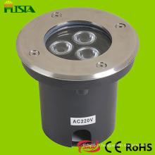 IP68 Lampe LED souterraine pour place jardin extérieure imperméable à l'eau