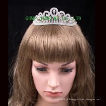 Chapeada personalizada rhinestone tiara venda venda
