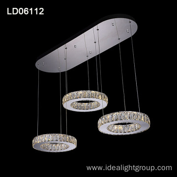 modern crystal pendant lamp chandelier led hanging