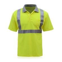 Hi Vis Reflective Safety Work T-Shirt
