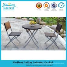 Парусный спорт Алюминиевая садовая мебель Патио Стол и стулья для продажи