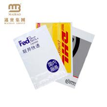 Guangdong-100% biologisch abbaubares kundengebundenes Logo druckte Selbstklebeband-sichere Plastikfedex-Post-Kurier-Taschen