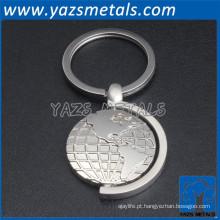Shenzhen fábrica oem / odm metal moda chaveiro