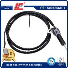 Détecteur / capteur d'épaisseur / transducteur de frein 5001856034 pour camion Renault