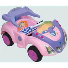 CE agréé voiture de jouet rose à conduire, voitures pour enfants à vendre (WJ277077)