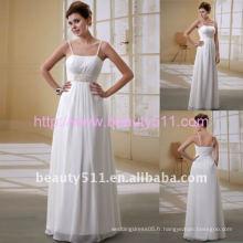 Robe de mariée 2017 Astergarden nouvelle robe en mousseline de soie en mousseline de soie en mousseline de soie