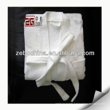 Luxury Hotel Bathrobe Velour Bathrobe White Robes
