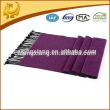 Propre usine et écharpes en viscose de haute qualité plain pasmina