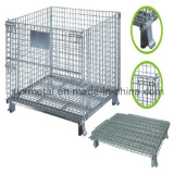 Collapsible Warehouse Folding Metal Storage Transport Logistic Container